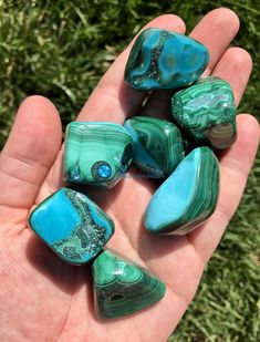 Malachite Chrysocolla Stone – Chrysocolla Malachite Stone – Calming – Malachite Stone – Chrysocolla Rough – Healing Crystals And Stones