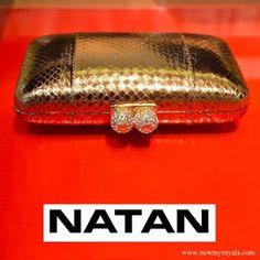 NATAN Clutch - Queen Maxima visit Australia www.newmyroyals.com