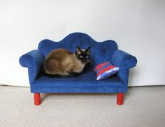 Sofa For Pets On Etsy, $100.00 | Luxury Cat Hotel | Pinterest | Pet Beds,  Pet Pet And Luxury Pet Beds