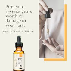 Our Vitamin C is made from organic and naturally derived ingredients. Vitamin C Serum, Vitamin E, Organic Vitamins, Stay Young, Face, The Face, Faces, Stay Gold, Facial