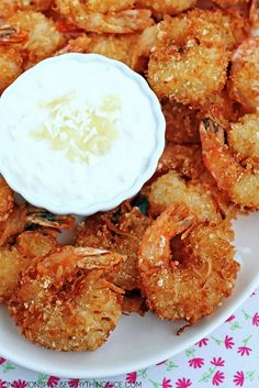 Almost Red Lobster's Parrot Bay Coconut Shrimp with Pina Colada Sauce