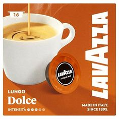 Lavazza A Modo Mio Lungo Dolce 16 per pack *** Learn more by visiting the image link.