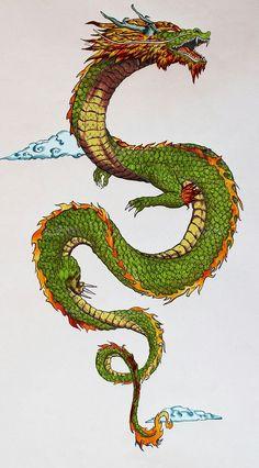 Dragon Tattoo Art, Dragon Tattoo For Women, Dragon Sleeve Tattoos, Japanese Dragon Tattoos, Dragon Artwork, Dragon Tattoo Designs, Irezumi Tattoos, Arrow Tattoo, Dragon Illustration