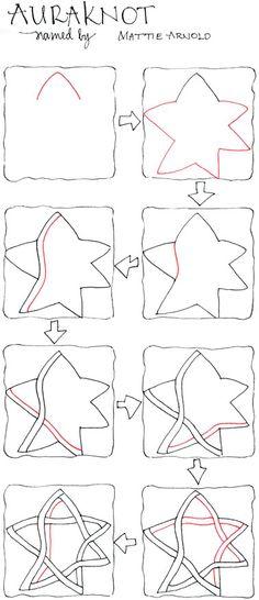Pre-Strung Tile photo #zentangle