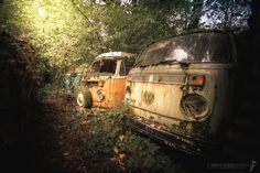 In the middle of nowehre #urbex #vw #oldtimer