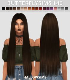 Feudal Female Hairstyle for The Sims 4