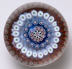 "Currier Collections Online - ""Millefiori Paperweight (""Fireworks"")"" by Baccarat Glasshouse"