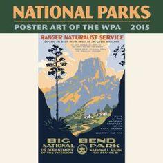 2015 Mini WPA National Parks Calendar