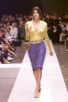 Fendi Spring 2000 Ready-to-Wear Fashion Show - Karl Lagerfeld