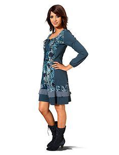 Buy Linea Tesini - Dress multicoloured in the Heine Online Shop