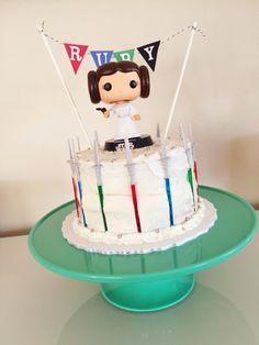 A Princess Leia Star Wars Cake