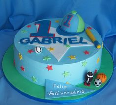 https://flic.kr/p/5htUfC | First birthday cake for a boy. | Buttercream covered cake with fondant details. Hat is vanilla cake coverted in fondant.