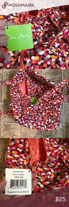 Vera Bradley Weekender Duffle Cute Vera Bradley small duffle. Perfect as a carry-on or weekender bag! Brand new with tags. Vera Bradley Bags Travel Bags