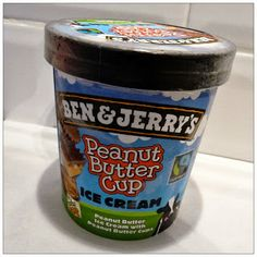 Ben and Jerry's Peanut Butter Cup, delicious!