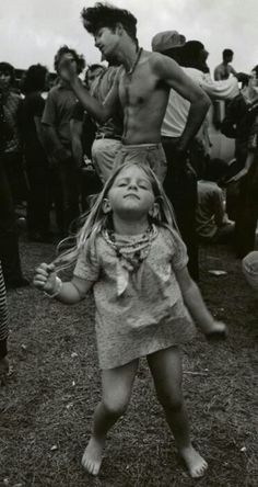 Woodstock 1969. Would be cool to see this girl today.