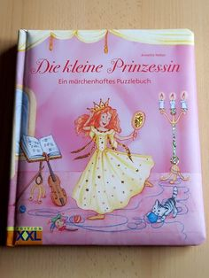 Buch Die kleine Prinzessin Ein märchenhaftes Puzzlebuch - Diesen und weitere Artikel finden Sie bei Marias-Einkaufsparadies.de! (www.marias-einkaufsparadies.de)
