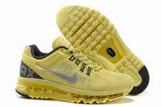 Nike Air Max 2013 Womens Sonic Yellow Black 555363 700  $59.99