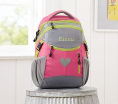Colton Bright Pink Backpack #pbkids