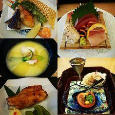 Family lunch #kaiseki #sashimi #japanese #japanesefood #tempura #foodporn #foodgasm by andrewwu618