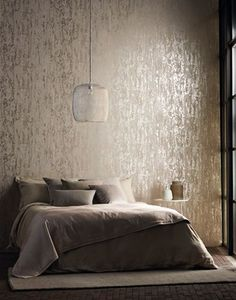 Silver Grey Luxurious Textured-Wallpaper by Harlequin Anthology 03 | Metallic De... - http://centophobe.com/silver-grey-luxurious-textured-wallpaper-by-harlequin-anthology-03-metallic-de/ -