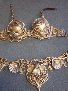 Angel Seashell Belly Dance set