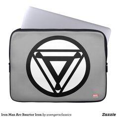 Shop Iron Man Arc Reactor Icon Laptop Sleeve created by avengersclassics. Neoprene Laptop Sleeve, Laptop Sleeves, Iron Man Logo, Iron Man Arc Reactor, Man Icon, Computer Sleeve, Custom Laptop, Front Bottoms, Incredible Hulk