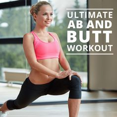 Ultimate Abs and Butt Workout | Posted By: NewHowToLoseBellyFat.com