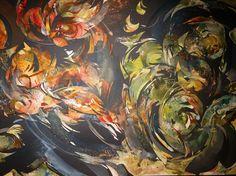 aquarelle découpée  Raymond GUIBERT Lamoura 2015