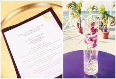 cayman wedding details designed by parfait weddings