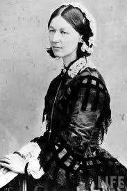 Florence Nightingale. Nurse, writer, statistician.  . . .