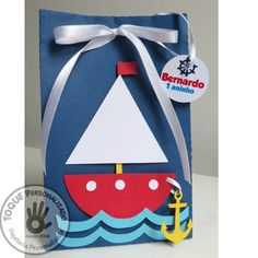 Nautical Birthday Cakes, Boys 1st Birthday Party Ideas, Baby First Birthday, Baby Shower Gender Reveal, Baby Shower Themes, Baby Boy Shower, Boat Crafts, Summer Crafts, Nautical Baby