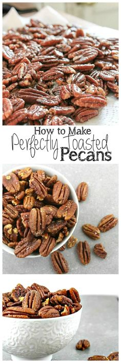 Perfectly Toasted Pecans | Take Two Tapas
