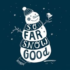 So Far Snow Good by Linzie Hunter