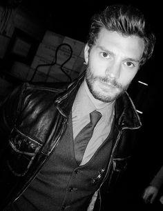 Jamie....::Sheriff Graham in black and white....stunning.