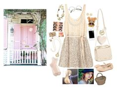 """""""Rosie goes through the door"""" by the-ravenclaw-princes ❤ liked on Polyvore featuring Jack Wills, Marc by Marc Jacobs, Chico's, H&M, Nordstrom, Urbanears, eliurpi, Chan Luu, Lucky Brand and Kotobuki"""