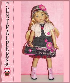 """Outfit EFFNER LITTLE DARLING DOLL 13 """"+  BOOTS. SOLD for one bid of $42.00 on 3/27/15"""