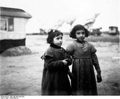 Berlin-Marzahn, storage space of Sinti and Roma children from Gregor and Heinrich Lehmann 1933