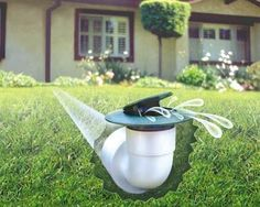 ideas for gutter run off | Gutters And Drains http://www.harryhelmet.com/a-new-solution-to-water-runoff-pop-up-gutter-drains/