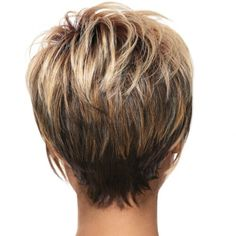 V Shaped Layered Short Haircuts