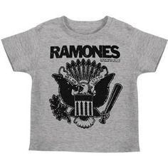 Baby Ramones tee, and lots of other awesome band tees.