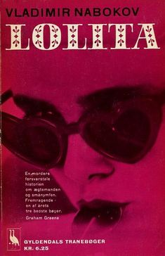 """17 """"Lolita"""" Book Covers From Around The World - 1963 Denmark  Originally published in 1955"""