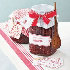 Homemade jams and spreads like our five-star Cranberry-Orange Marmalade (pictured) can be a sweet, affordable gift for your neighbors. ~ Cooking Light
