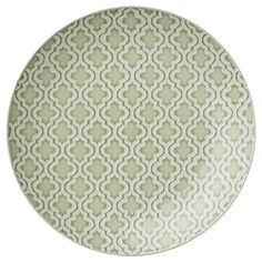 Abella plate in Choy green 27 cm. Lene Bjerre SS16.