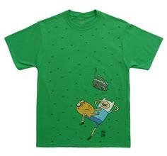 Adventure time Grass Scene just perfect for that funny man!  #adventure #adventuretime #men #man #shirt #shirts #t-shirt #t-shirts #funny #tv