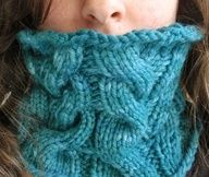 knitted face cover-great for winter