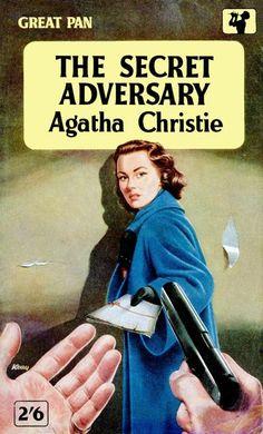 The secret adversary by agatha Christie vintage paperback