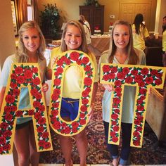 AOII letters ...so surprised seeing this sweet face on Pinterest!