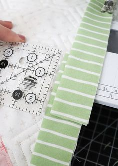 Lella Boutique: The Art of Quilt Binding Machine Binding A Quilt, Quilt Binding, Diagonal Line, Rotary Cutter, Last Stitch, Rifle Paper Co, Quilting Tips, Figure It Out, Quilt Top