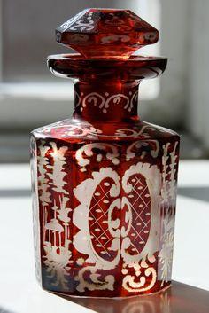 vignette design: Vintage Valentine Perfume Bottles