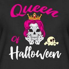 Queen Of Halloween - Women's Premium T-Shirt Usa Holidays, Halloween 2018, Trick Or Treat, Fancy, Queen, Celebrities, Shirt, Celebs, Dress Shirt